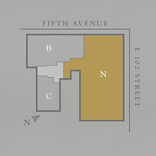Bathroom Floor Cabinets on Floor Plans   1212 Fifth Avenue Condominium